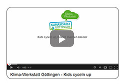 Video-Clip: Kids cyceln up, Kinder machen Kleider (www.youtube.com)