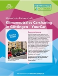 Klimaneutrales Carsharing in Göttingen - YourCar